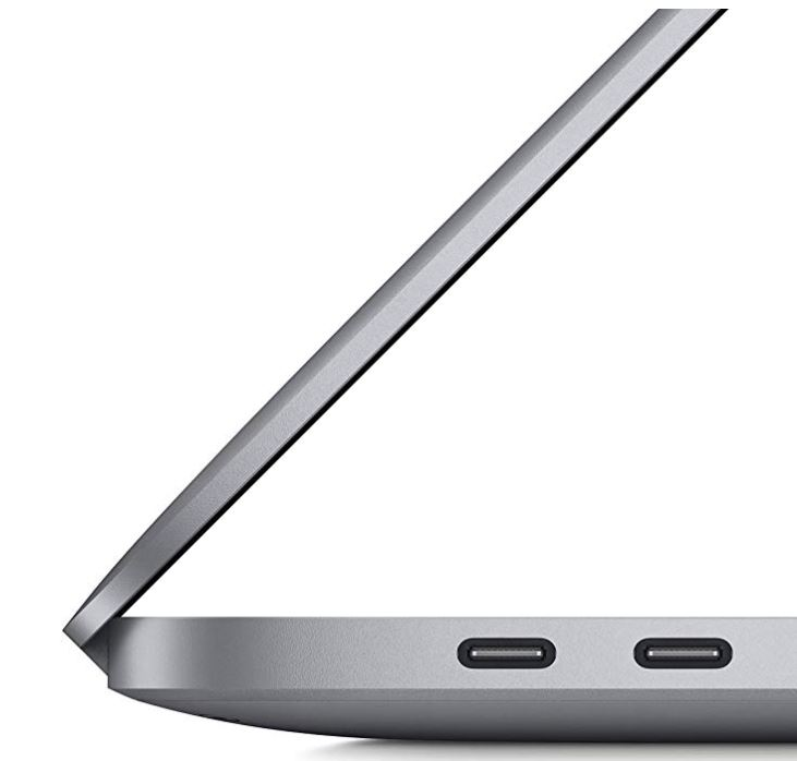 Nuevo Apple MacBook Pro de 16 pulgadas lateral